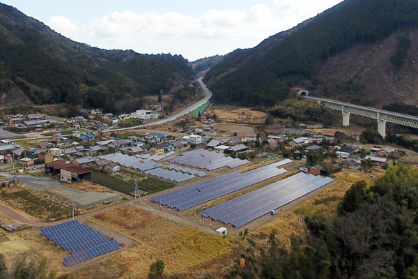下三瀬パネルグループ(大台町)約1,000KW